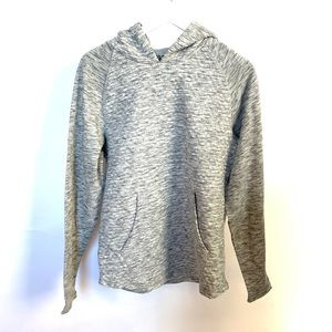 First Wave Boys Gray Hoodie Sweater Pullover